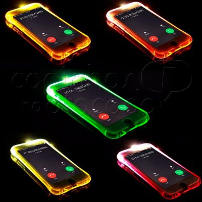 Capa de Silicone Flash Lightning - Cores Sortidas