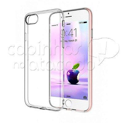 Capa de Silicone TPU Transparente para iPhone 7