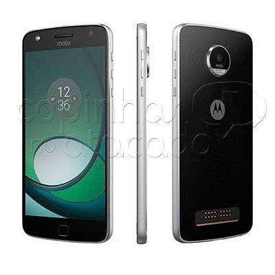 Capa de Silicone TPU Fumê para Motorola Moto Z Play