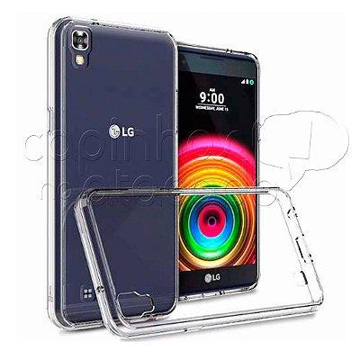 Capa de Silicone TPU Transparente LG X Power