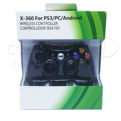 Controle Sem Fio para XBOX 360 / PS3 / PC / Android