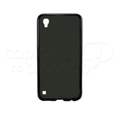 Capa de Silicone TPU Fumê para LG X Style