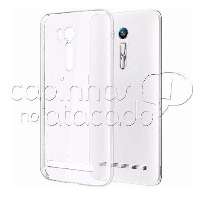 Capa de Silicone TPU Transparente para Asus Zenfone Go 4.5
