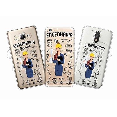 Capa Personalizada Premium Profissões - Engenharia