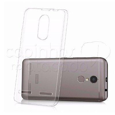 Capa de Silicone TPU Transparente para Lenovo Vibe K6 Plus