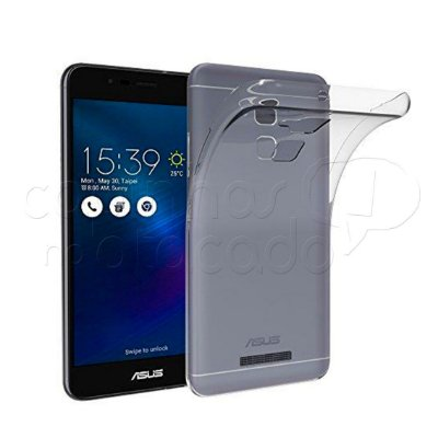 Capa de Silicone TPU Transparente para Asus Zenfone 3 MAX (5.2)