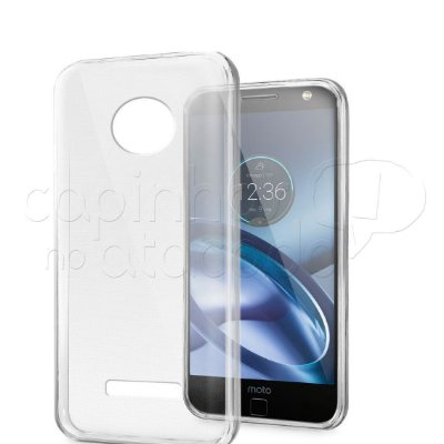 Capa de Silicone TPU Transparente para Motorola Moto Z