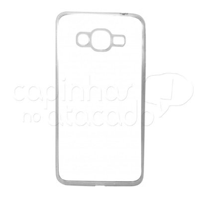 Capa de Silicone TPU Transparente para Samsung Galaxy J2 Prime
