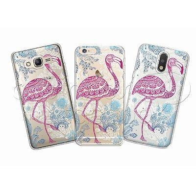 Capa Personalizada Premium - Flamingo