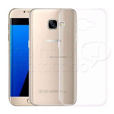 Capa de Silicone TPU Transparente para Samsung Galaxy A7 2017