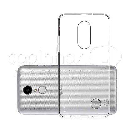 Capa de Silicone TPU Transparente para LG K10 Novo 2017