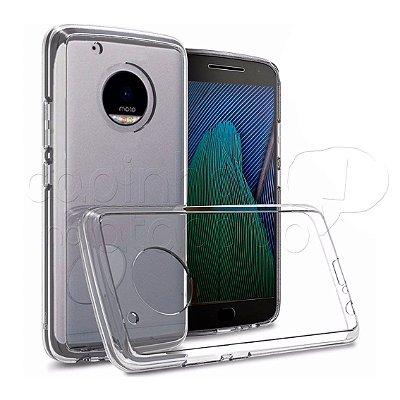 Capa de Silicone TPU Transparente para Motorola Moto G5