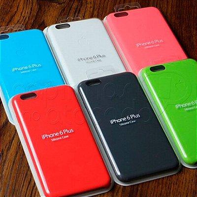 Silicon Case para Celulares iPhone - Cores Sortidas