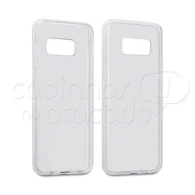 Capa de Silicone TPU Transparente para Samsung Galaxy S8