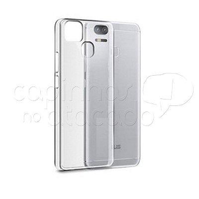 Capa de Silicone TPU Transparente para Zenfone 3 Zoom