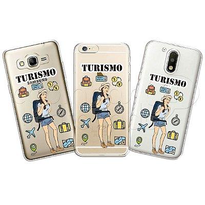 Capinha Personalizada Premium Profissões - Turismo