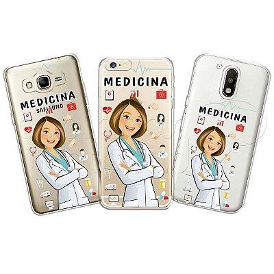 Capinha Personalizada Premium Profissões - Medicina