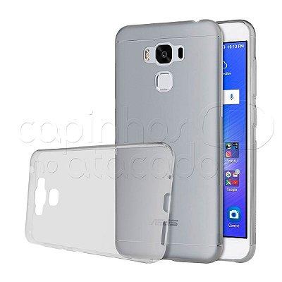 Capa de Silicone TPU Transparente para Asus Zenfone 3 Max 5.5