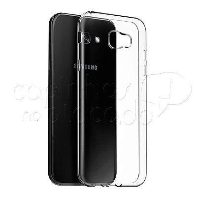Capa de Silicone TPU Transparente para Samsung Galaxy A3 2017
