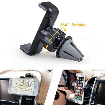 Suporte de Smartphone 360º para Saída do Ar - Cores Sortidas
