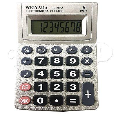 Calculadora Eletrônica ED-298A - Cores Sortidas