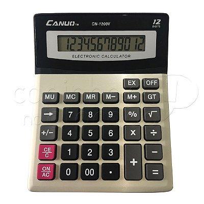 Calculadora Eletrônica Desk-Top 12 Dígitos CN-1200V - Cores Sortidas