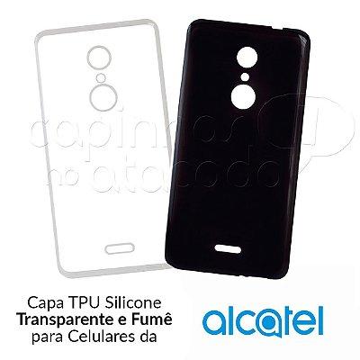 Capinha de Silicone TPU para Celulares da Alcatel - Clique e Escolha o Aparelho