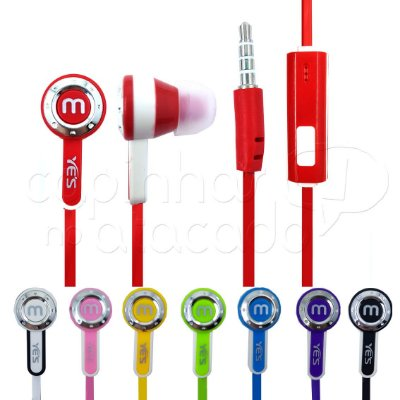Fone de Ouvido Intra Auricular Master - Cores Sortidas