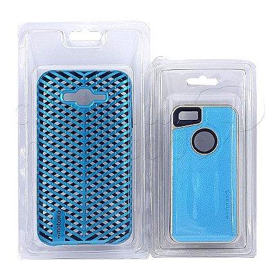 Kit com 10 / 30 ou 50 Embalagens - Blisters para Capa de Celular