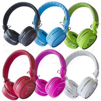 Headphone Bluetooth Music Acompany SH10 - Cores Sortidas