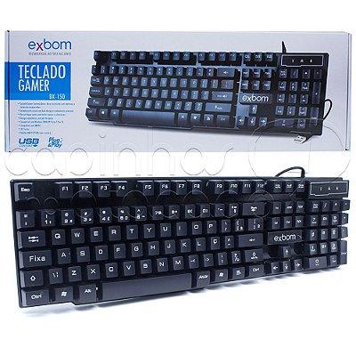 Teclado Gamer USB Exbom - BK-150