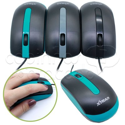 Mouse com Fio Color Line - Cores Sortidas