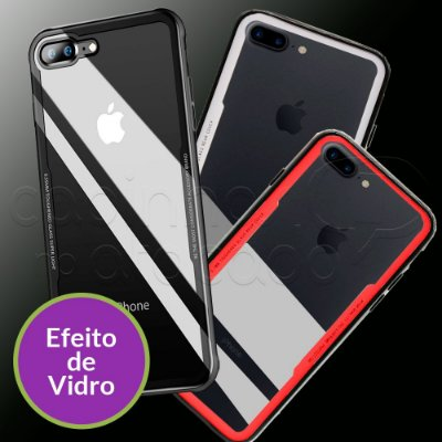 Capinha Glass Cover - Cores Sortidas