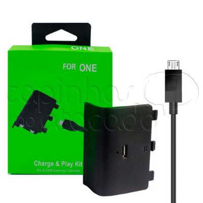 Kit Bateria Recarregável para Controle de Xbox One - Kit Play Charge