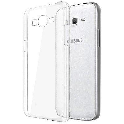 Capa de Silicone TPU Transparente para Samsung Galaxy Gran Prime Duos - G530