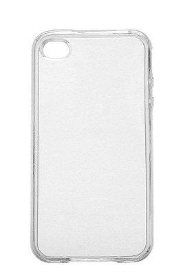 Capa de Silicone TPU Transparente para iPhone 4 / 4s