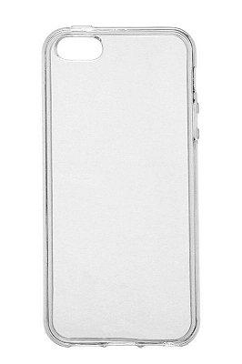 Capa de Silicone TPU Transparente para iPhone 5 / 5s