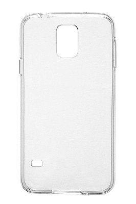 Capa de Silicone TPU Transparente para Samsung Galaxy S5 G900 i9600