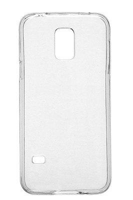Capa de Silicone TPU Transparente para Samsung Galaxy S5 Mini G800