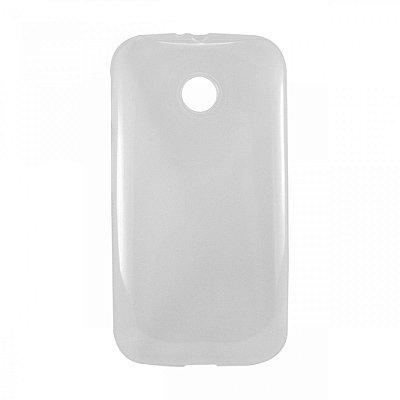 Capa de Silicone TPU Transparente para Motorola Moto E