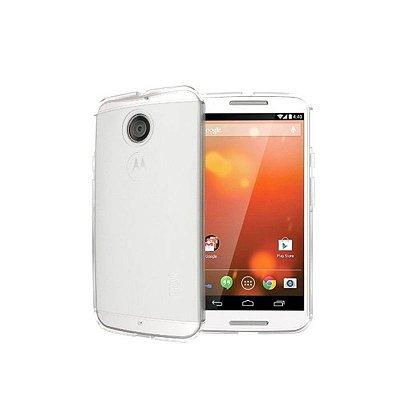 Capa de Silicone TPU Transparente para Motorola Moto X 2ª Geração