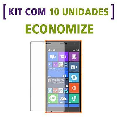 Kit com 10 Películas de Vidro Temperado para Nokia N830