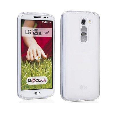 Capa de Silicone TPU Transparente para LG G2 Mini