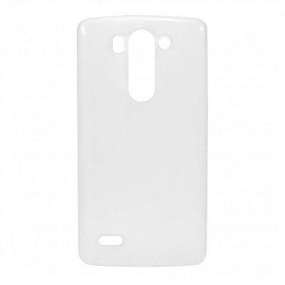 Capa de Silicone TPU Transparente para LG G3 Mini