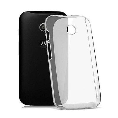 Capa de Silicone TPU Transparente para Motorola Moto E 2ª Geração