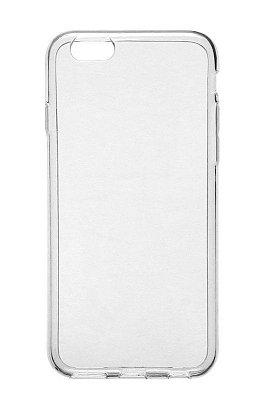 Capa de Silicone TPU Transparente para iPhone 6 Plus