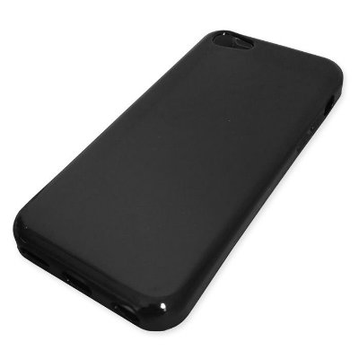 Capa de Silicone TPU Fumê para iPhone 5C