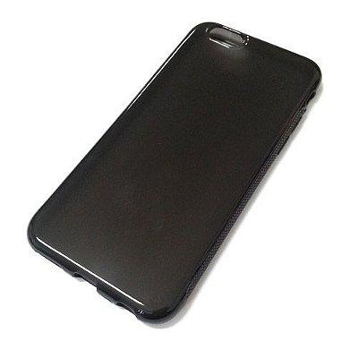Capa de Silicone TPU Fumê para iPhone 6 Plus