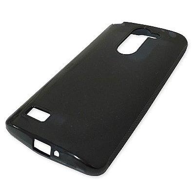 Capa de Silicone TPU Fumê para LG Prime D337