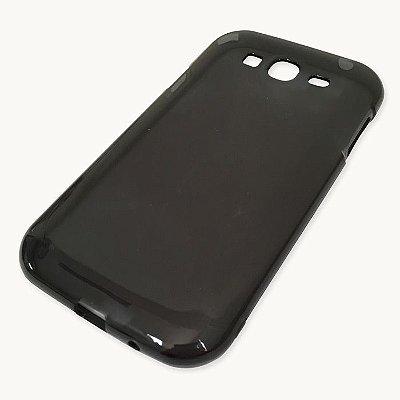 Capa de Silicone TPU Fumê para Samsung Galaxy Gran Duos i9082 / i9063